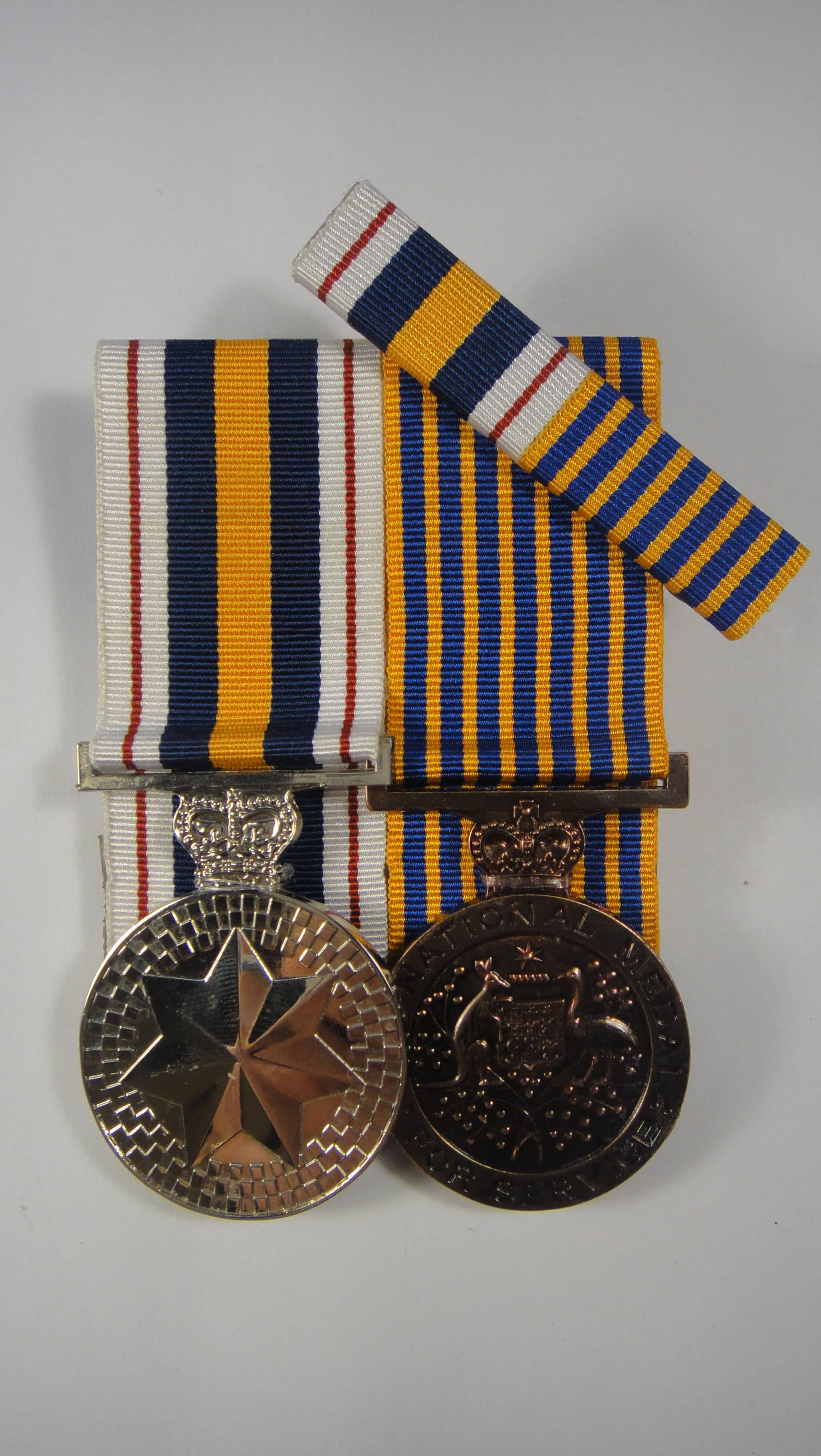 National Police Service Medals, National Medal